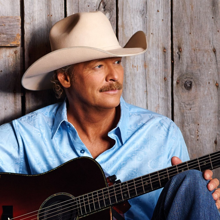 ALAN JACKSON LAUNCHES MEDIA BLITZ PRIOR TO RELEASING HIS NEW ALBUM, ANGELS AND ALCOHOL.