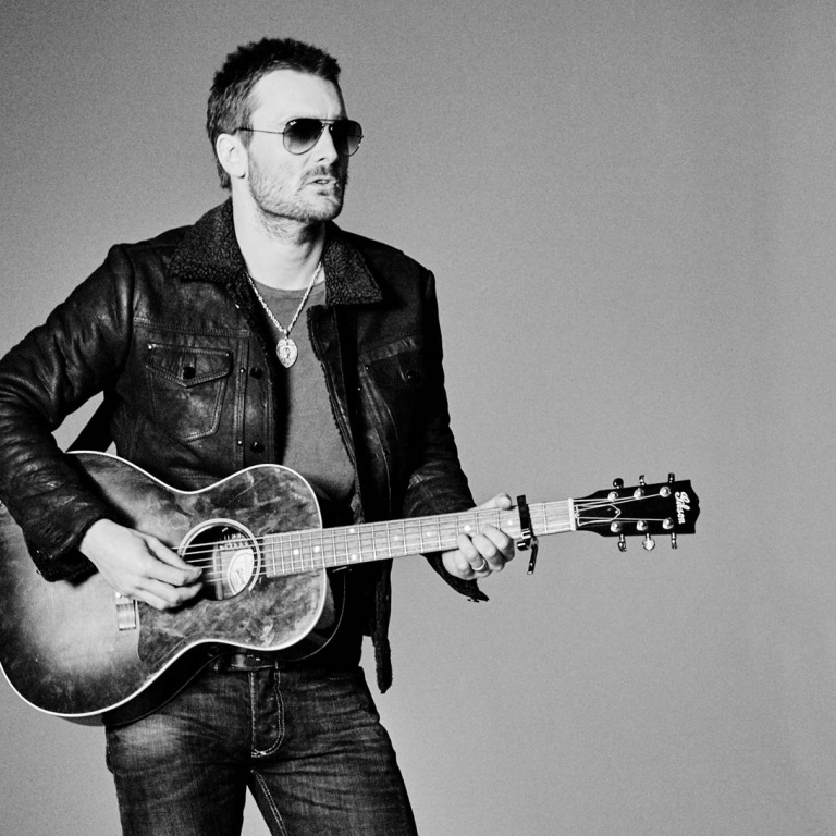 ERIC CHURCH LAUNCHES NEW TOUR TOMORROW.