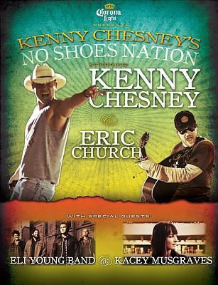 ERIC CHURCH JOINS KENNY CHESNEY ON THE 'NO SHOES NATION' STADIUM TOUR! (AUDIO)