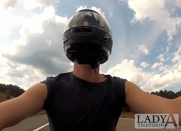 LADY A'S CHARLES KELLEY TAKES A BIKE RIDE! (VIDEO)