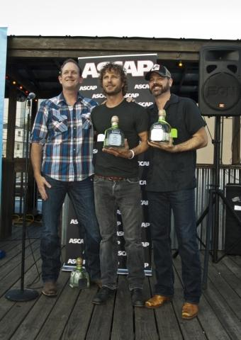 "DIERKS BENTLEY CELEBRATES NO. 1 SINGLE, ""AM I THE ONLY ONE!"""