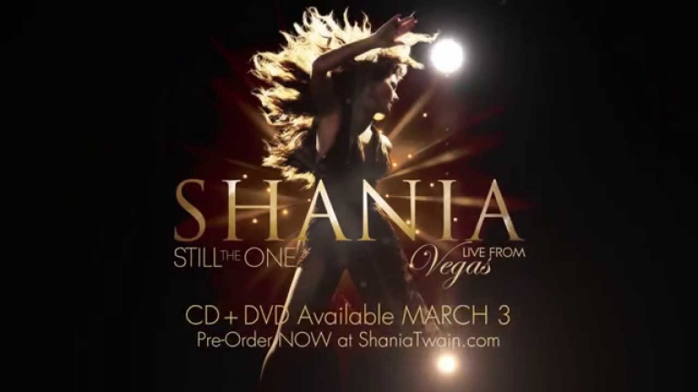 Shania Twain Still The One: Live From Vegas [CD+DVD Trailer]