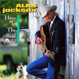 ALAN JACKSON CELEBRATES 25 YEARS OF 'HERE IN THE REAL WORLD.'