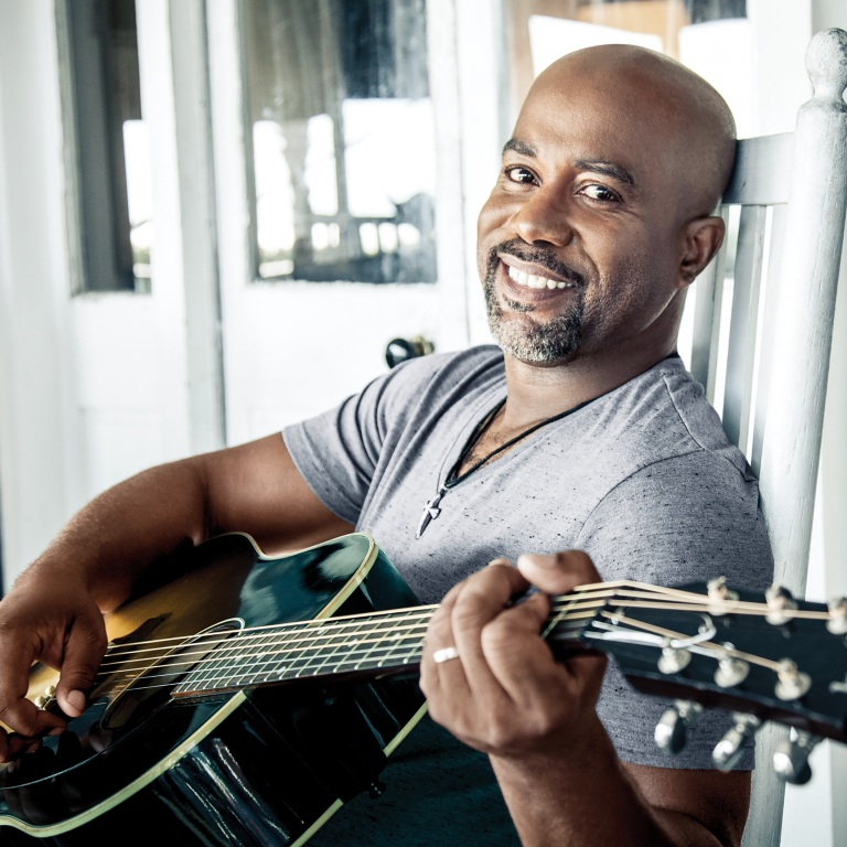 DARIUS RUCKER TAKES SOME OF HIS FAVORITE 'VOICES' ON THE ROAD.