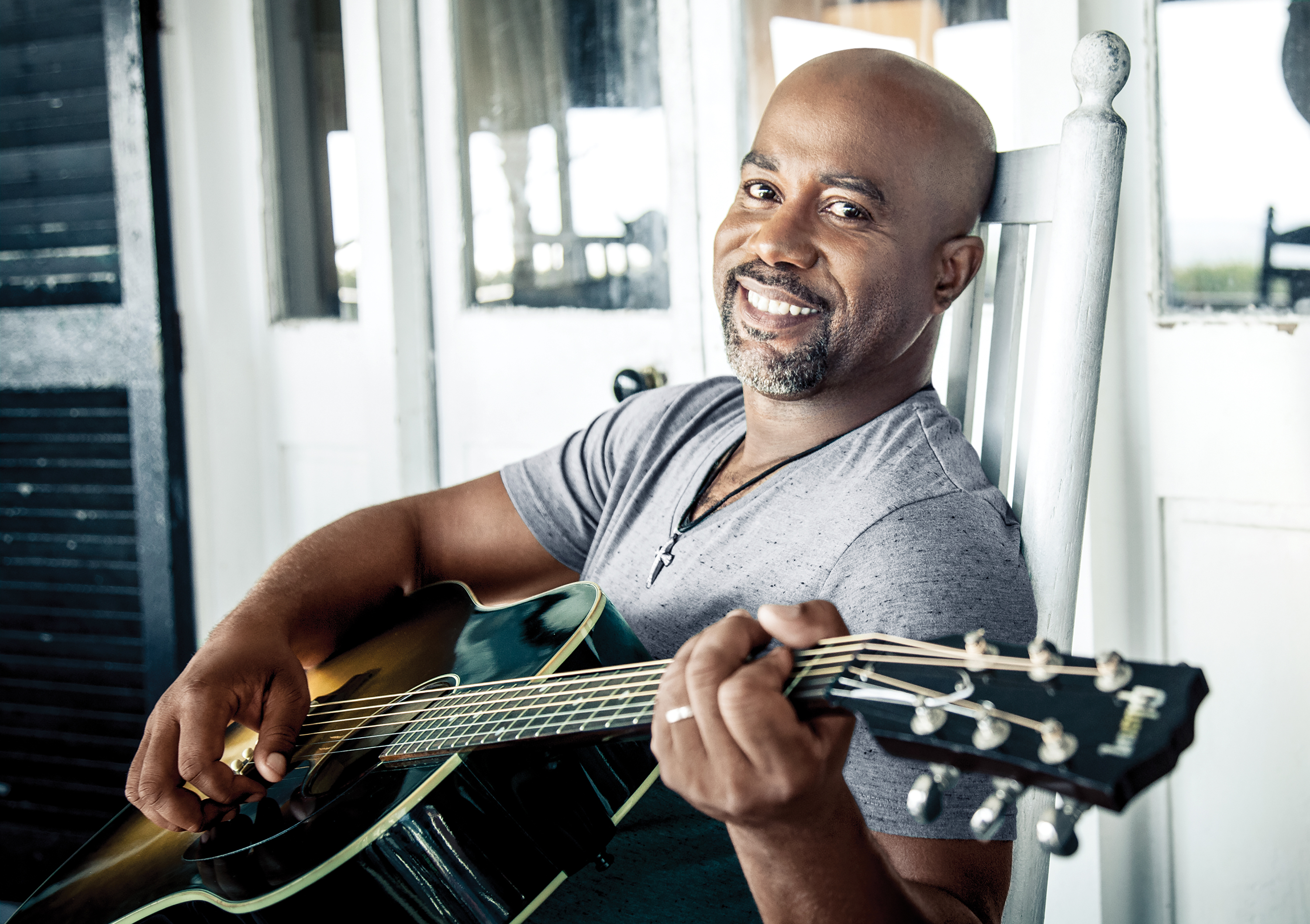 "DARIUS RUCKER WRITES & RELEASES OF-THE-MOMENT ""BEERS AND SUNSHINE."""