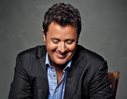 "VINCE GILL PLAYS WITH ""FIVE GUITAR PLAYERS"" HE'S CRAZY ABOUT THIS WEEK."