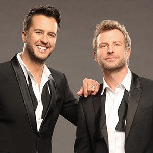 LUKE BRYAN AND DIERKS BENTLEY WILL PERFORM DURING THIS YEAR'S ACM AWARDS.