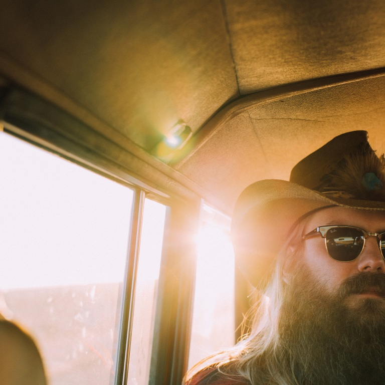 CHRIS STAPLETON SHOWS FANS BEHIND-THE-SCENES OF HIS 'FIRE AWAY' VIDEO.