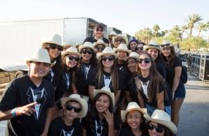 Indio Boys & Girls club Stagecoach color Joseph Llanes