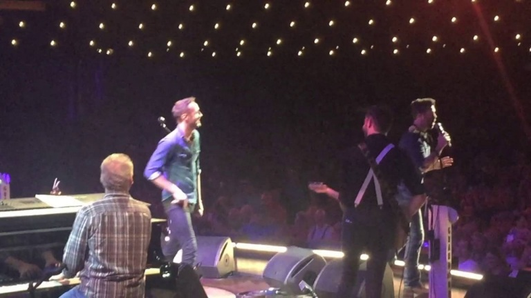Surprising Drew Baldridge at his Grand Ole Opry Debut