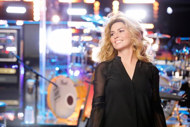 "SHANIA TWAIN HITS THE BIG SCREEN NEXT MONTH IN ""TRADING PAINT."""
