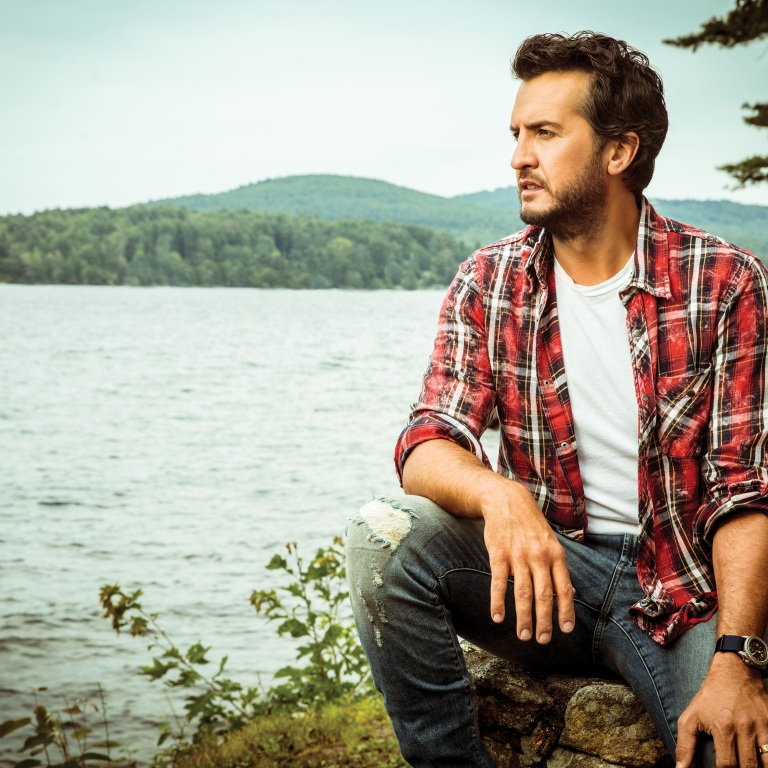 LUKE BRYAN IS CURIOUS HOW HE WILL BE REPRESENTED ON THE NEW 'AMERICAN IDOL' WHEN IT PREMIERES ON SUNDAY.