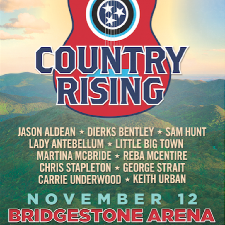 COUNTRY RISING CONCERT EXPANDS TO INCLUDE LAS VEGAS AND ADDS KEITH URBAN TO THE LIST OF PERFORMERS.