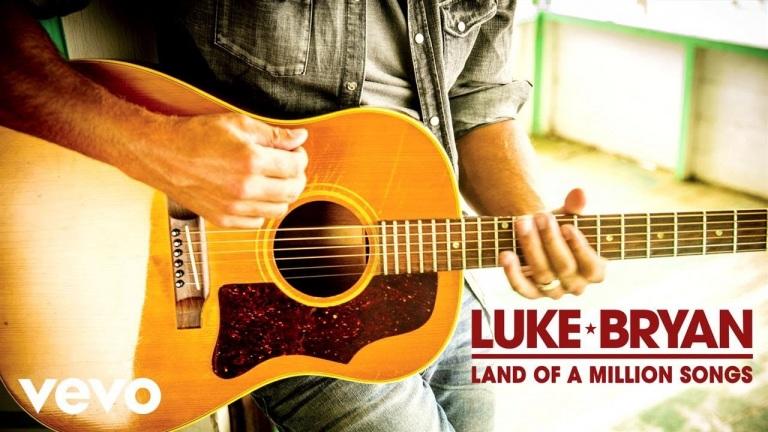 Luke Bryan – Land Of A Million Songs (Audio)