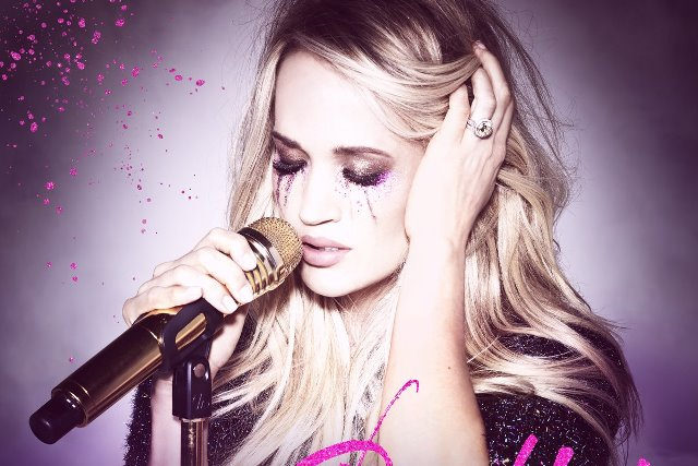 CARRIE UNDERWOOD RELEASES HER NEW SINGLE, 'CRY PRETTY.'