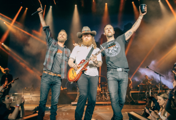 ACM AWARDS 2019: DIERKS BENTLEY AND BROTHERS OSBORNE WIN ACM MUSIC EVENT OF THE YEAR.