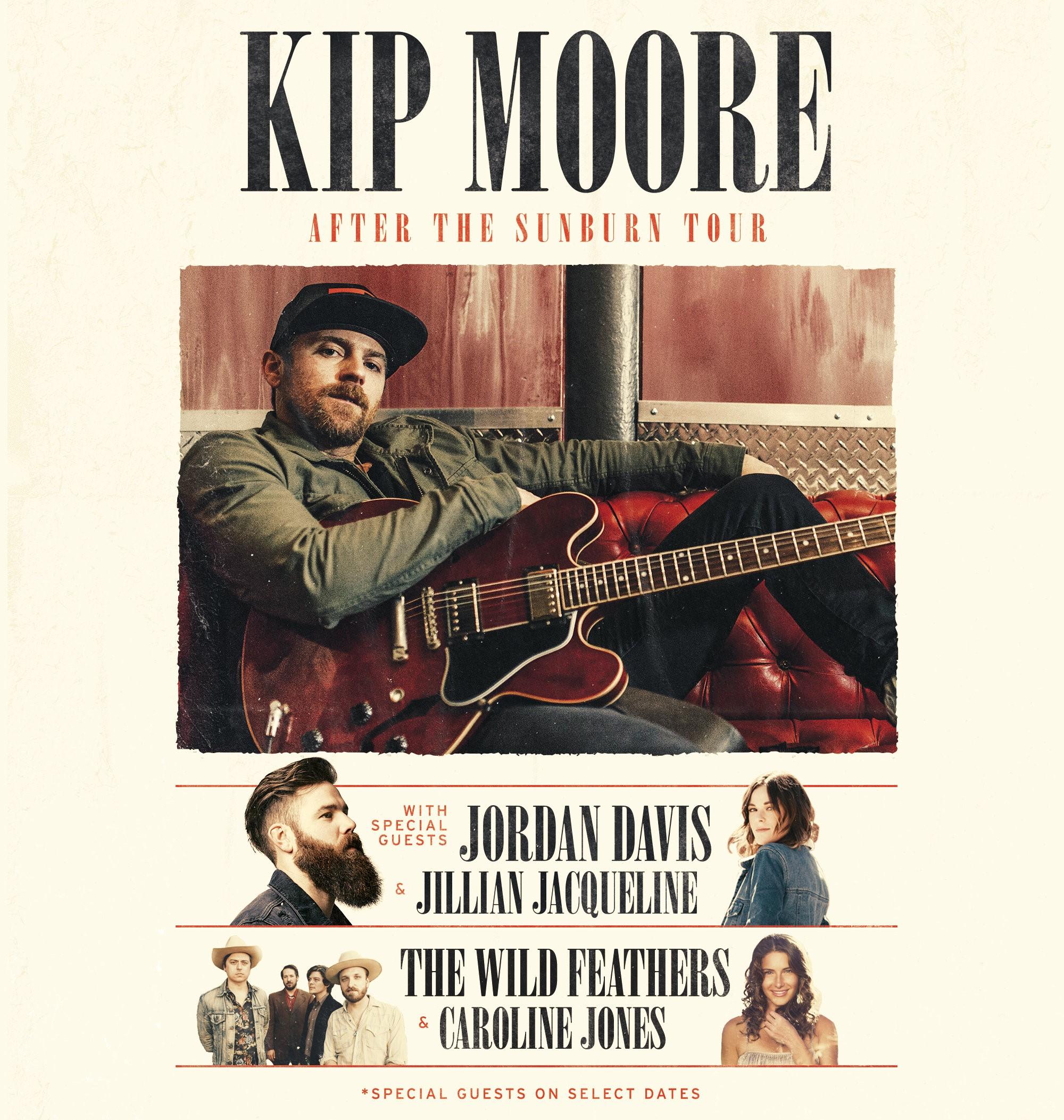 Pressroom   KIP MOORE ANNOUNCES NEW 'AFTER THE SUNBURN TOUR