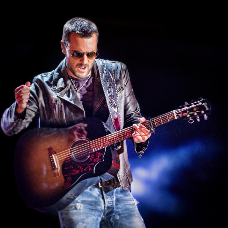 ERIC CHURCH WROTE AND RECORDED NEW MUSIC PRIOR TO THE QUARANTINE.