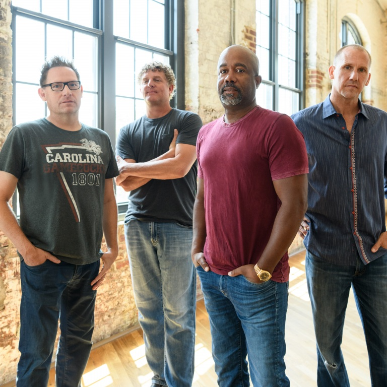 "HOOTIE & THE BLOWFISH MAKE LONG-AWAITED RETURN TO RADIO AIRWAVES WITH ""HOLD ON."""