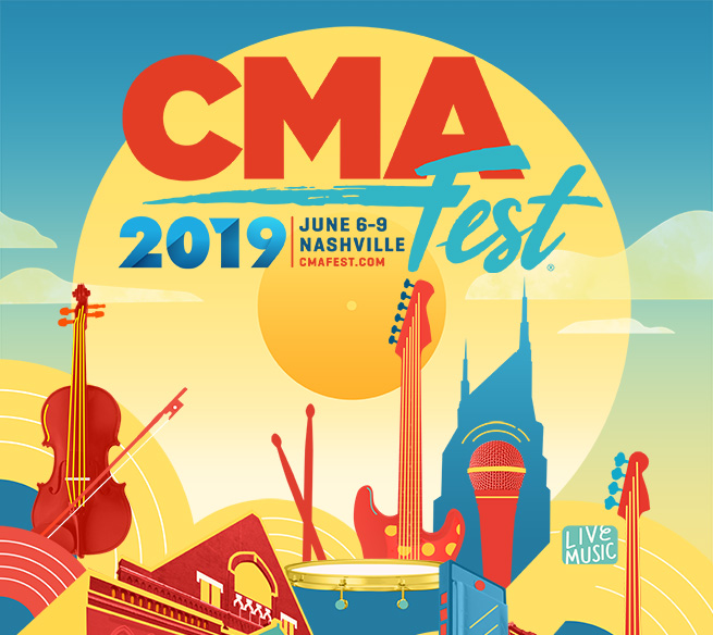 CMA FEST 2019 WILL FEATURE PERFORMANCES BY CARRIE, LUKE, DIERKS, KEITH, BROTHERS OSBORNE, LBT, JORDAN, LAUREN AND MANY MORE.