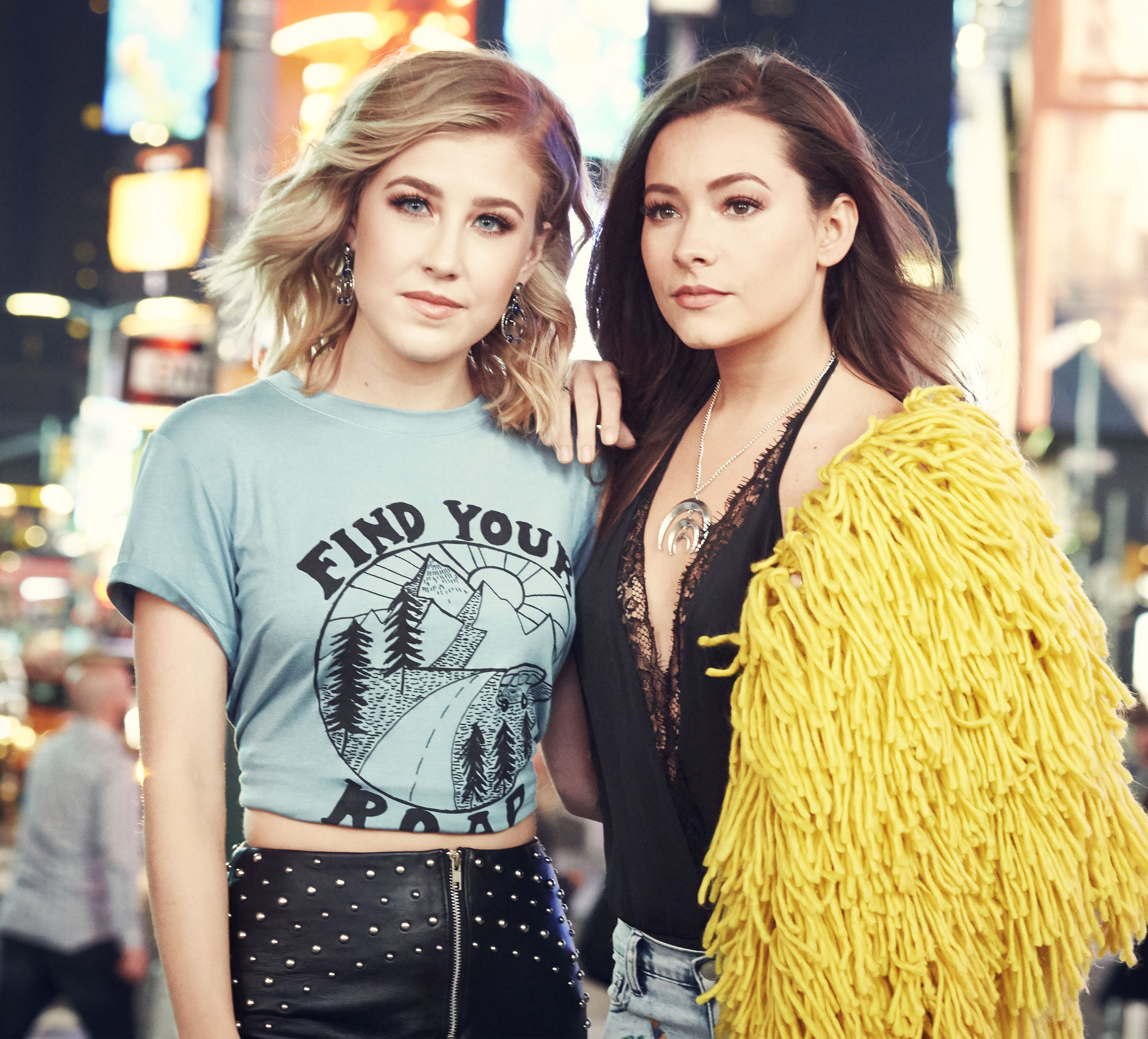 MADDIE & TAE ARE EXCITED TO RELEASE THEIR NEW EP, ONE HEART TO ANOTHER, THIS WEEK.