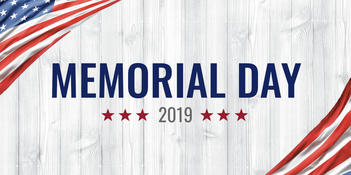 MEMORIAL DAY 2019 AUDIO