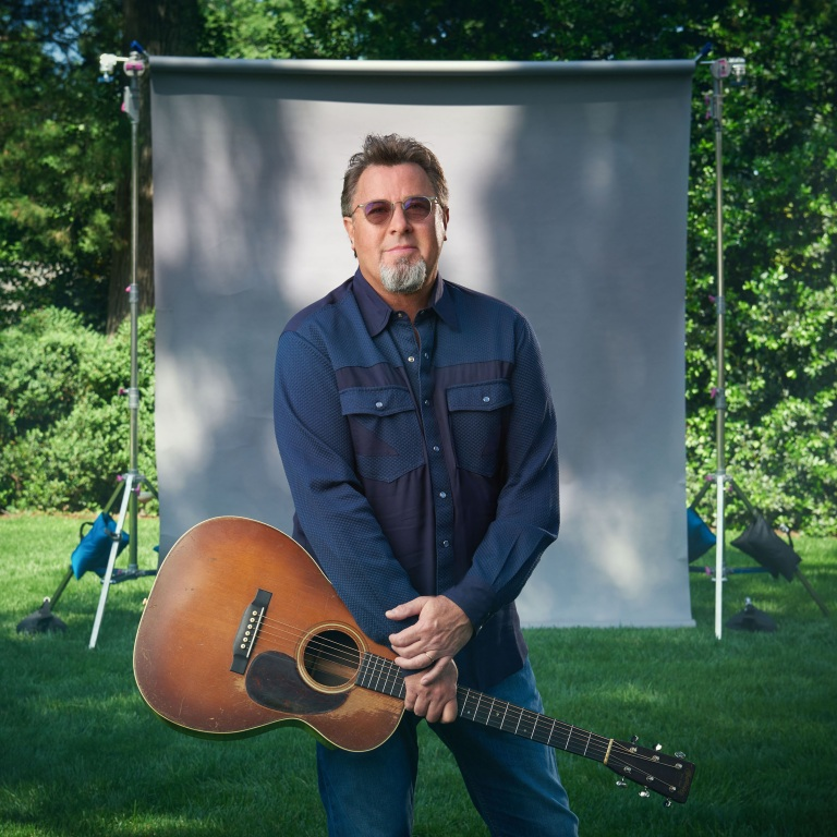 VINCE GILL, BRAD PAISLEY AND MARTY STUART PERFORM DURING A LIVE STREAM OF THE GRAND OLE OPRY.