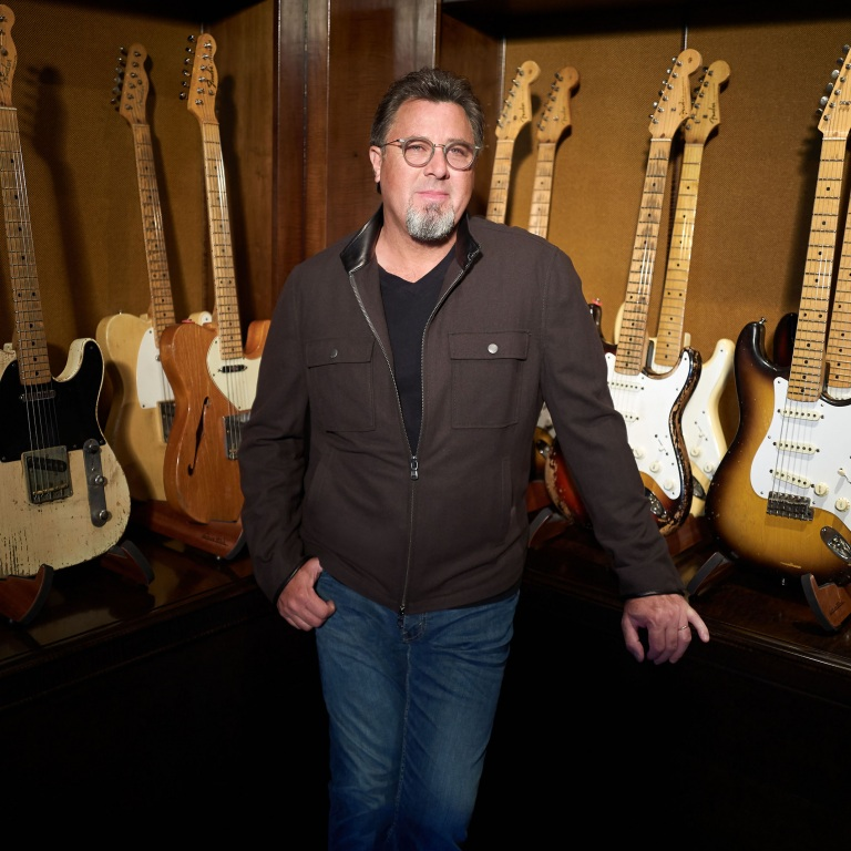 VINCE GILL TITLED HIS NEW ALBUM OKIE BASED ON WHERE HE'S FROM, THE RICH HISTORY OF THE STATE AND KEN BURNS.