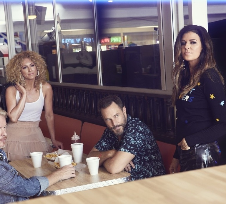 "LITTLE BIG TOWN RELEASES MUSIC VIDEO FOR ""SUGAR COAT"" FROM THEIR UPCOMING ALBUM, NIGHTFALL."