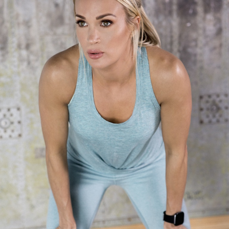CARRIE UNDERWOOD LAUNCHES fit52 FITNESS APP.