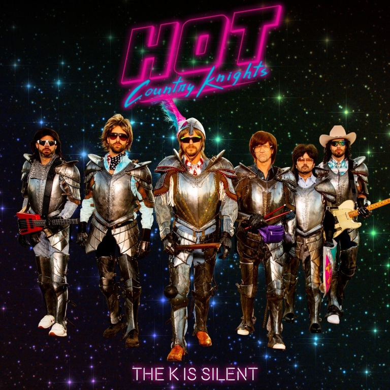 """HOT COUNTRY KNIGHTS ARE NOT """"SILENT"""" ABOUT THEIR NEW ALBUM."""