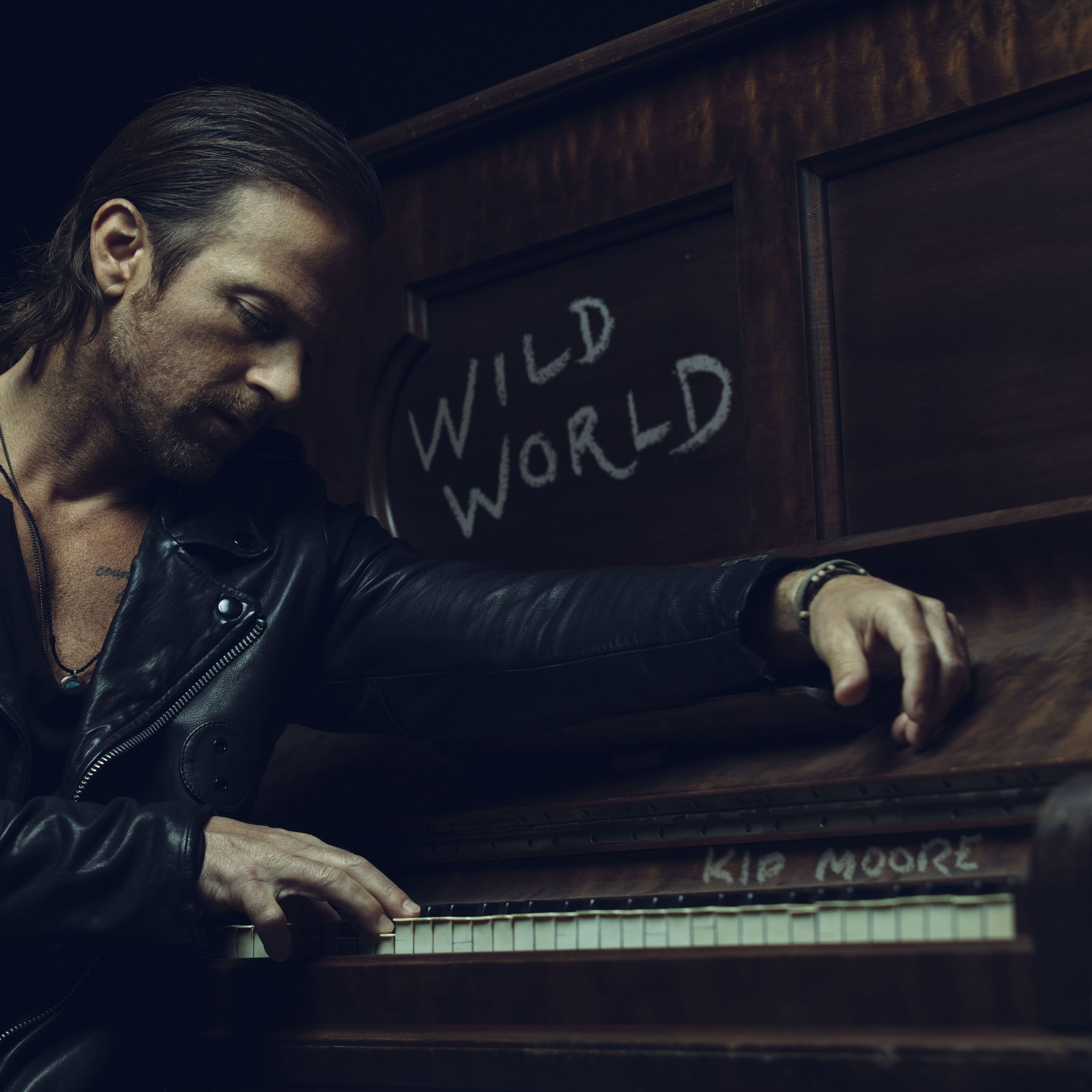 KIP MOORE SAYS FANS CAN EXPECT HONESTY AND JOY IN HIS NEW RECORD, WILD WORLD.