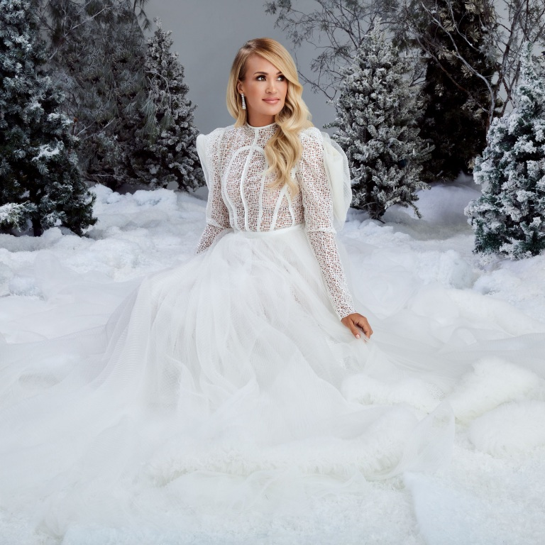 CARRIE UNDERWOOD'S FIRST-EVER CHRISTMAS ALBUM, MY GIFT, CONTINUES TO REIGN AT TOP OF CHARTS.