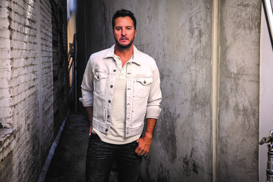 LUKE BRYAN APPEARS ON JIMMY KIMMEL LIVE.