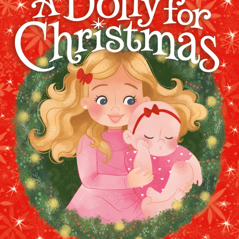 A DOLLY FOR CHRISTMAS: The True Story of a Family's Christmas Miracle By Little Big Town's Kimberly Schlapman and illustrated by Morgan Huff.