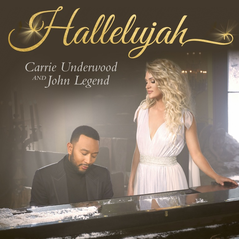 "CARRIE UNDERWOOD AND JOHN LEGEND DEBUT THE VIDEO FOR ""HALLELUJAH."""