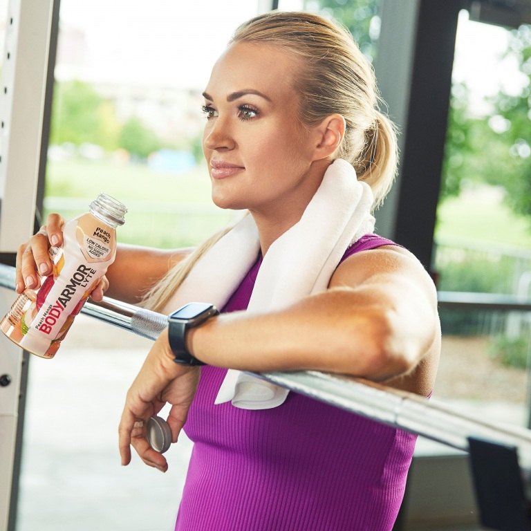 CARRIE UNDERWOOD EXPANDS HER GROWING HEALTH AND WELLNESS PORTFOLIO WITH A NEW EQUITY PARTNERSHIP WITH BODYARMOR LYTE SPORTS DRINK.