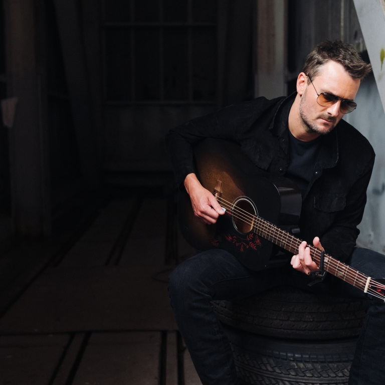 ERIC CHURCH, HIS BAND AND HIS CO-WRITERS MADE A COMMITMENT TO THE UNUSUAL RECORDING PROCESS OF HEART & SOUL.