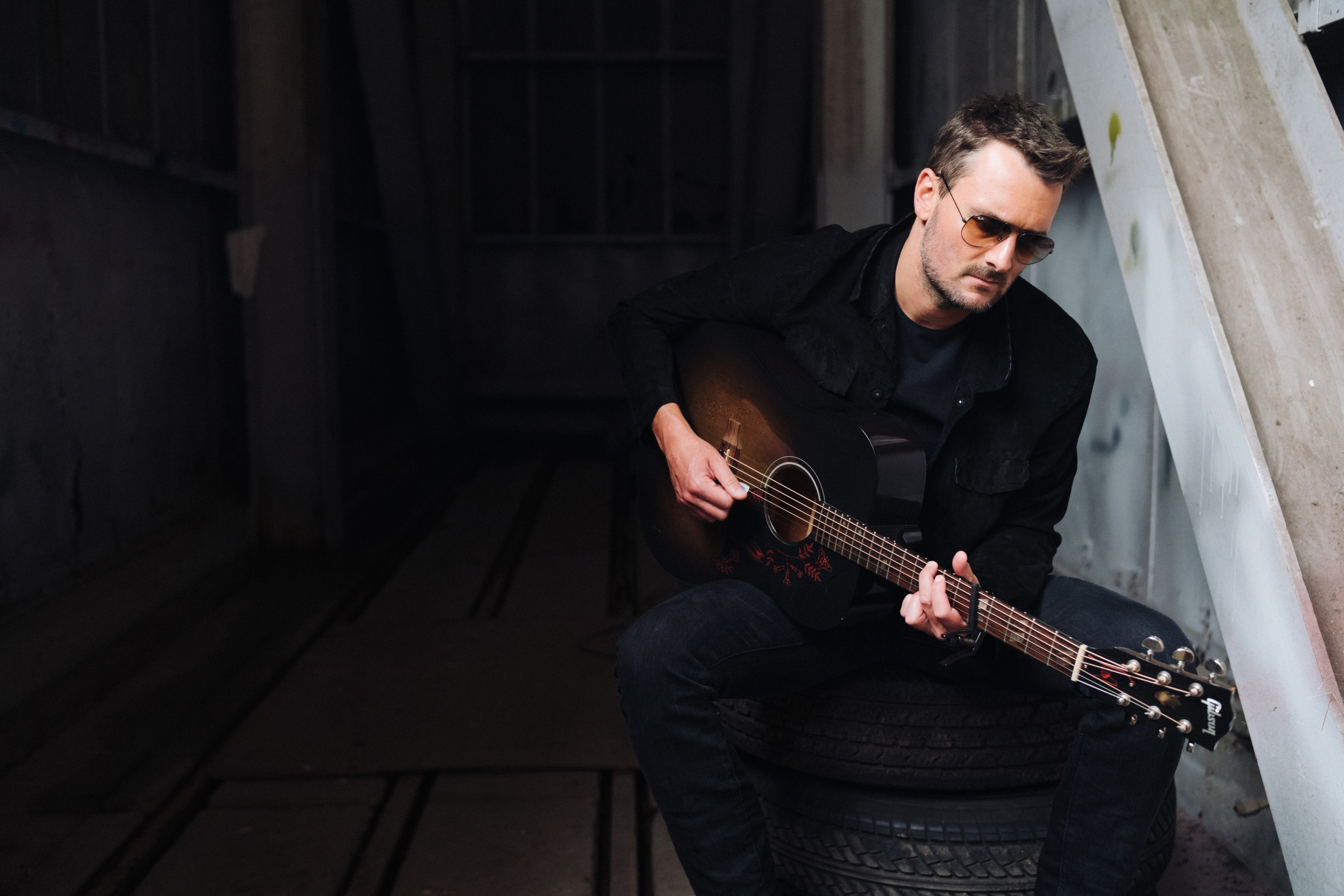 "ERIC CHURCH RELEASES ""NEVER BREAK HEART,"" EARNS 3 ACM NOMS."