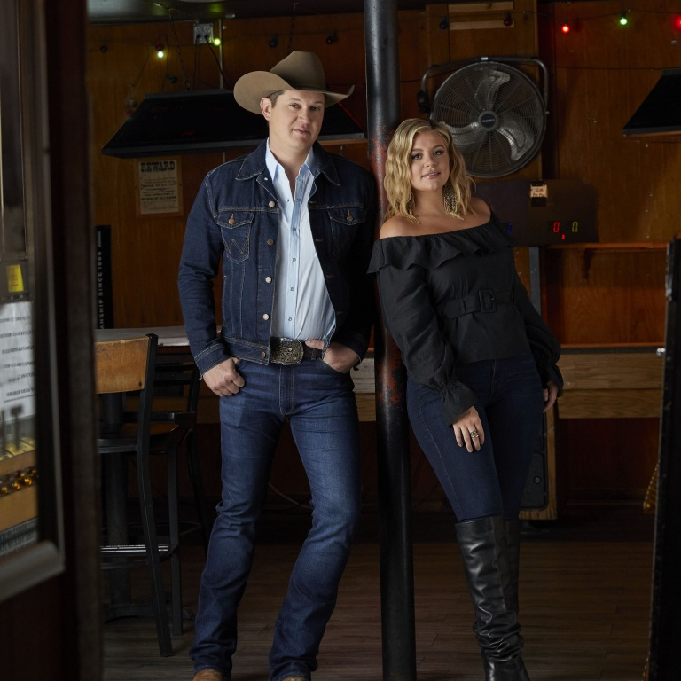 "LAUREN ALAINA'S ""GETTING OVER HIM"" FEATURING JON PARDI IMPACTS COUNTRY RADIO TODAY."